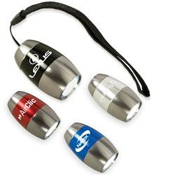 Baby Barrel 6 LED Flashlight Engraved, Promotional LED Flashlight