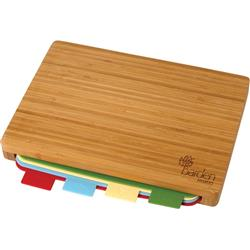 Bamboo Cutting Board with 5 piece set