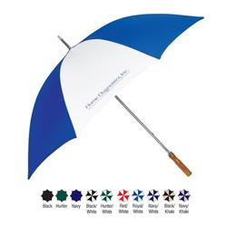 "Economy 60"" Golf Umbrella with Custom Imprint"