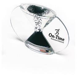Reverse Custom Hour Glasses with Reverse Flow, 5 Minute Promotional Hour Glass Timer