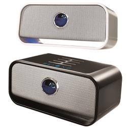 Brookstone Big Blue Live Wireless Bluetooth Speaker with custom imprint for corporate gifts