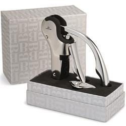Brookstone Connoisseur's Wine Opener with custom laser engraving