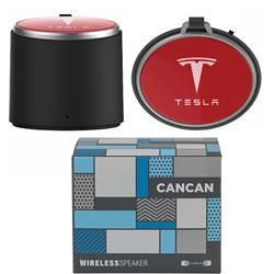Cancan Bluetooth Speaker by Origaudio with your custom full color logo