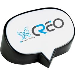 Caption Bubble Stress Reliever with Custom Logo