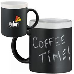 11oz. Black Chalkboard Mood Mug