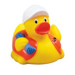 Custom Construction Rubber Duck
