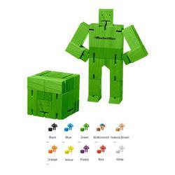 Micro Areaware Cubebot Custom Puzzle Game