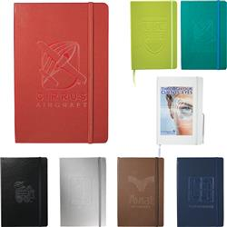 Ambassador Bound Journal Book with custom logo or deboss medium size