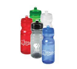 24 oz. Colored Custom Bike Bottles