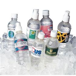Custom water bottles tradeshow giveaway promotional items