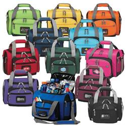 Custom Cooler Duffel Bags with your Promotional Logo in Colors