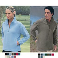Custom Microfleece Half Zip Pullover Jacket