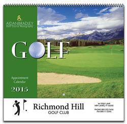 Custom Golf Calendar
