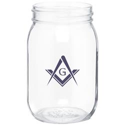 Custom Mason Jar Glasses with no handle