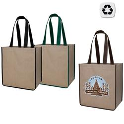 V Natural Paper Kraft Bag - Recyclable