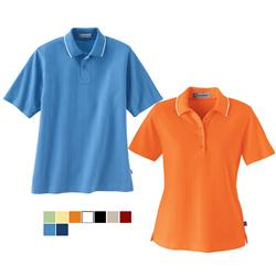 EDRY Custom Polo Shirts with Contrasting Collar