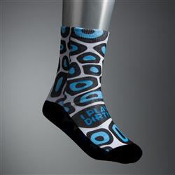 Custom Dye Sublimated Socks with Your Custom Logo
