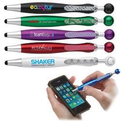Swanky Stylus Pen with custom imprint - a unique promotional pen