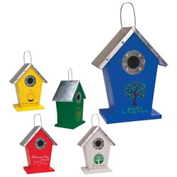 Custom Birdhouse with promotional logo