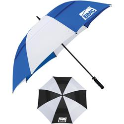 "62"" Cutter & Buck Vented Golf Umbrella with custom logo"