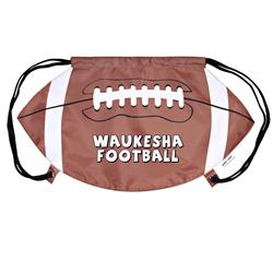 Football Drawstring Backpacks & Cinch Bags