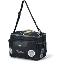 Encore Music Cooler Bag to plug in to your iPhone or MP3 player