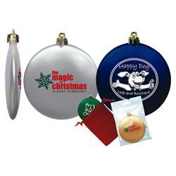 Flat Shatterproof Ornaments