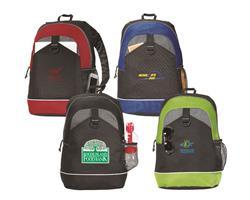 Canyon Custom Backpacks with screen printed logo