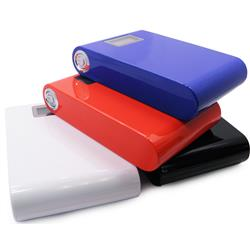 High Capacity Power Bank and LED Flashlight for iPads, Tablets, iPhones and Smartphones