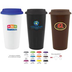 16 oz Terra Paper Cup Look Custom Travel Mug