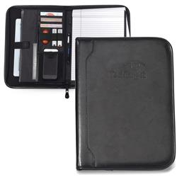 Imperial Lether Padfolio with Custom Logo