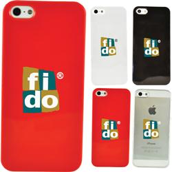 iPhone 5 Custom Case in Hard Plastic with your custom logo