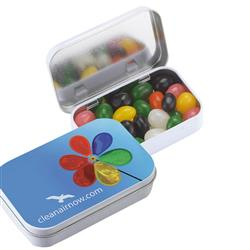 Custom Jelly Bean Rectangular Tins