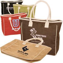 Jute & Canvas Custom Tote Bags