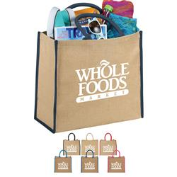 Jute Shopper Totes and Tote Bags for Trade Shows