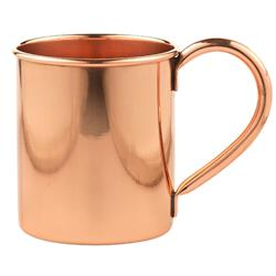 Kiev Style Moscow Mule Mug in Solid Copper