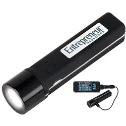Flashlight and emergency power pack custom engraved