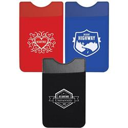 Lycra Mobile Phone Wallet and Pocket with a 1-color imprint