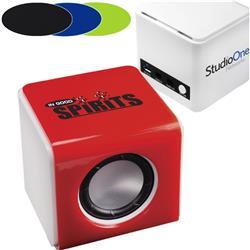 Mini Bluetooth® Sound Kube Speakers