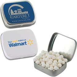 Custom Candy Tins and Mint Tin with Full Color Logo