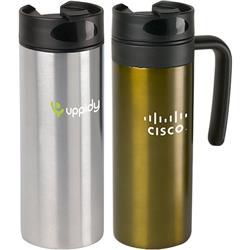 Morph Travel Mug and Vacuum Tumbler with promotional logo