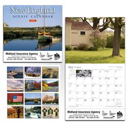 New England Scenic Wall Calendar