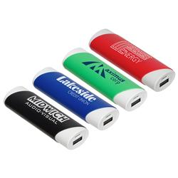 Nuevo 2200 mah UL Listed Power Bank with a Custom Logo