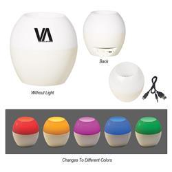 Color Changing LED Bluetooth Speaker