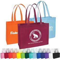 Wide Custom Grocery Tote Bags