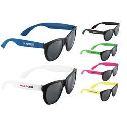 Cool Dude Retro Custom Sunglasses and Promotional Sunglasses