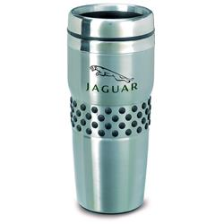Regency stainless steel tumbler and travel mug, insulated with custom logo
