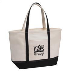Black Rock The Boat Tote customized