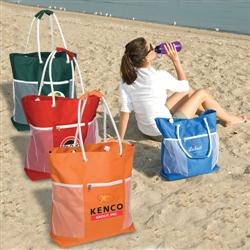 Seaside Tote Bag - Custom Beach Totes