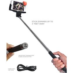 Deluxe Bluetooth Selfie Sticks